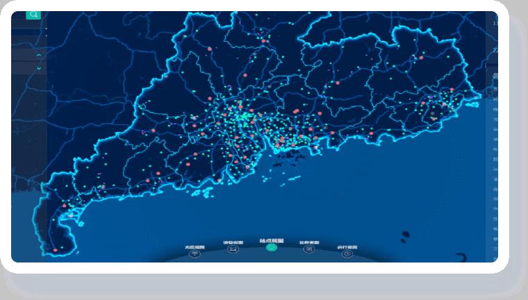 智慧加油站解决方案-地理信息可视化