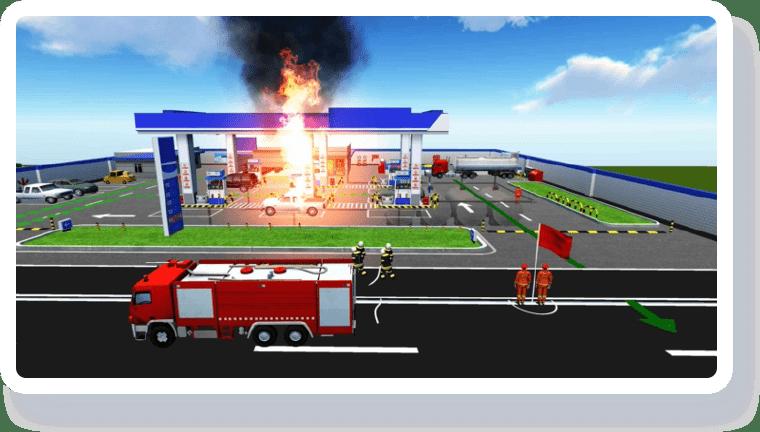 智慧加油站解决方案-数字化消防预案