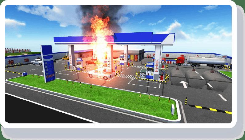 智慧加油站解决方案-案例