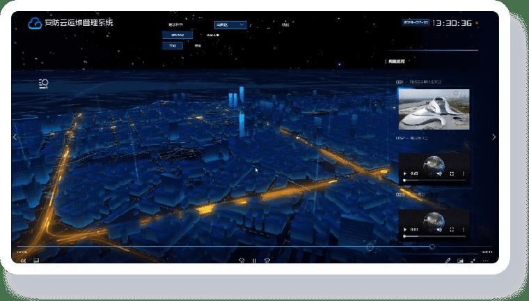 智慧城市可视化解决方案-提供直观高效的决策支撑平台