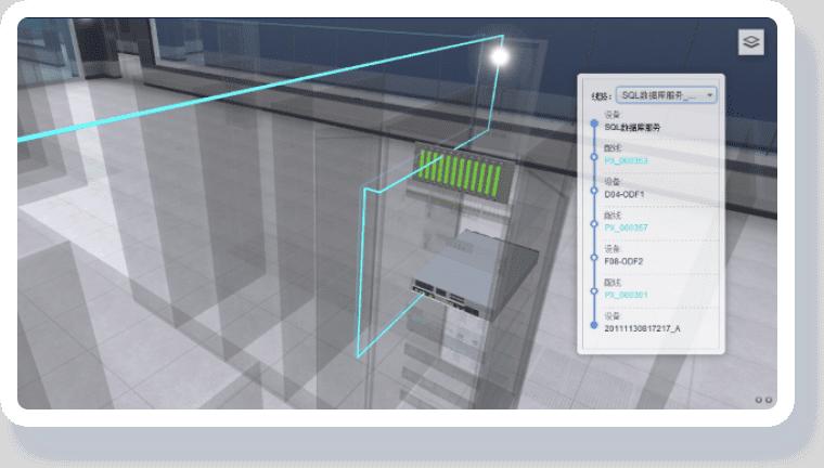 公安机房可视化解决方案-管线管理