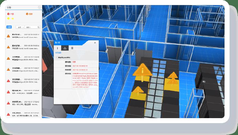 公安机房可视化解决方案-监控管理