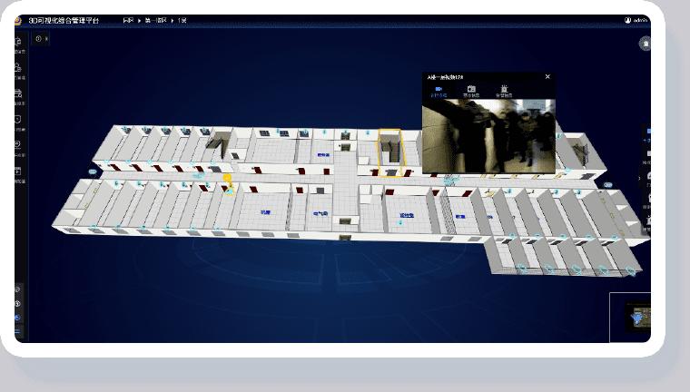 监所可视化解决方案-安防可视化管理