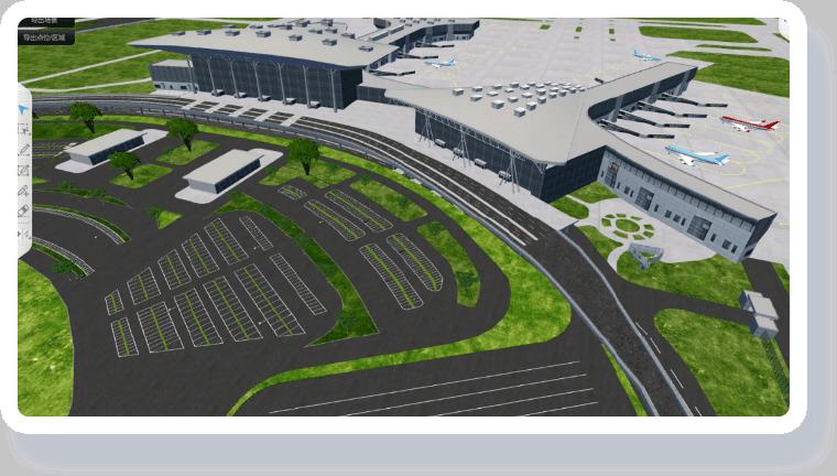 智慧机场可视化解决方案-全局精准可视