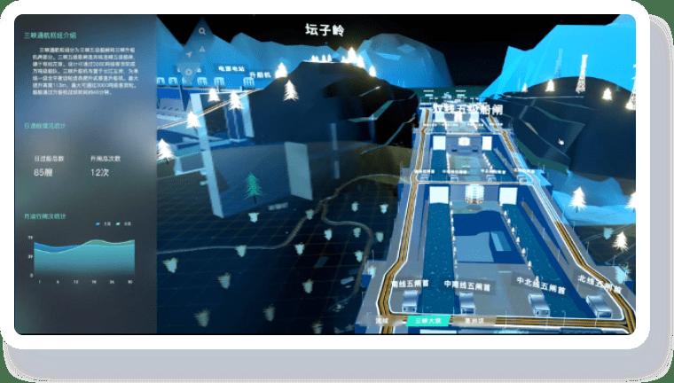智慧航运可视化解决方案-航运安全管控可视化