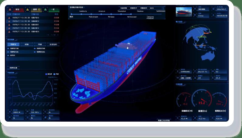 智慧航运可视化解决方案-案例